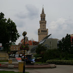 A park square in city center.