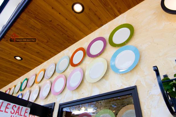 日本輕井澤賣瓷盤的店