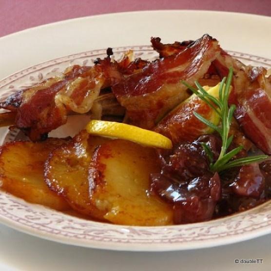 fazan sa slatkim od luka i smokava