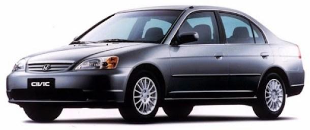 20.12.2000 - Divulgação - CA - Veículos - Automóvel Honda Civic 2001