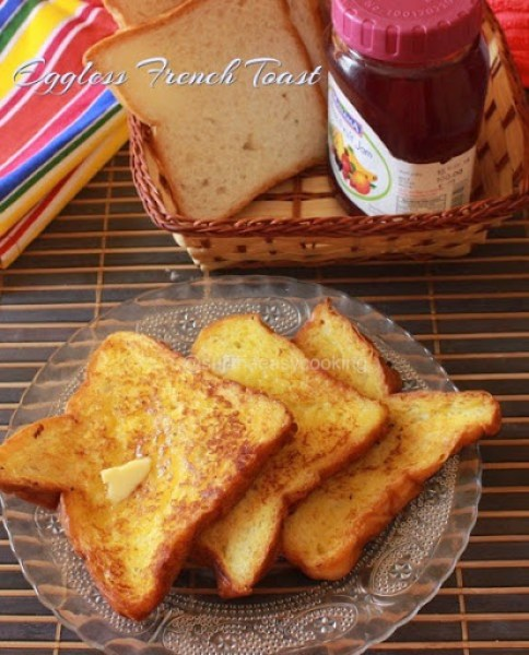 Eggless French Toast1