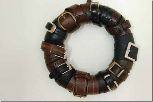 belt wreath