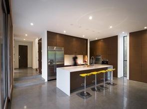 Cocina moderna de diseño integrado