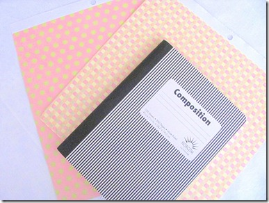 Image result for making a journal from a composition book