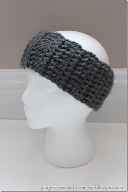 Quick and Chunky Crochet Ear Warmer Pattern - Renewed Claimed Path