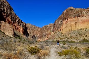Burro Mesa Pouroff Trail