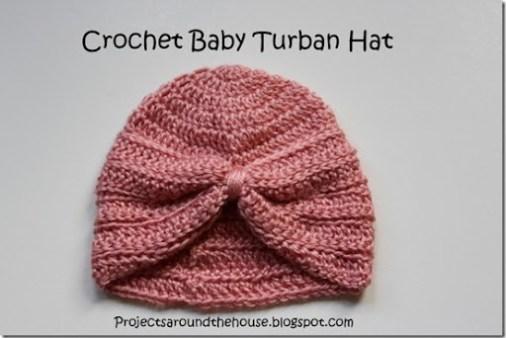 Crochet Baby Turban Hat - Renewed Claimed Path de134a44bd6