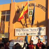 VII Mitja Marató De Muntanya Serra d'Oltà - Calp (18-Diciembre-2011)