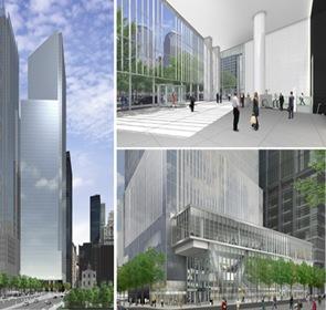 proyecto de arquitectura 4 World Trade Center