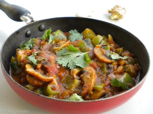 Tickling Palates: Mushroom Masala ~ Spicy & Hot   Mushroom Recipes