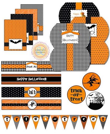 Orange and Black Halloween