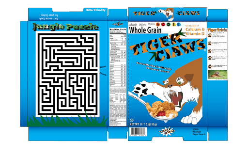 Box Cereal Biography Project Template