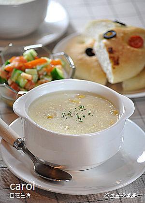 ♦ 奶油玉米濃湯 - ╔歡妹╗ 濃湯 ♥