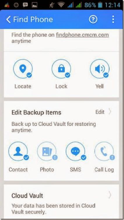 antivirus android dengan fungsi backup