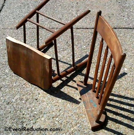 chair cut with a jigsaw