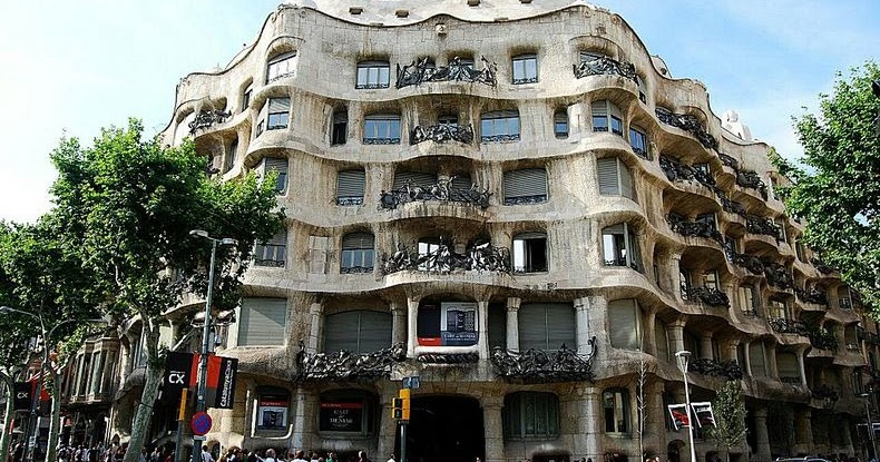 Casa Mila in Barcelona Spain  Amusing Planet