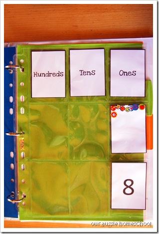 Our Aussie Homeschool ~ Calendar Notebook
