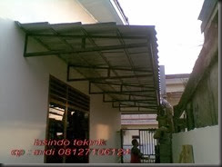 jenis baja ringan untuk tiang pekerjaan atap / roofing - bengkel las lasindo teknik