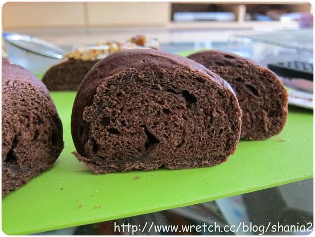 巧克力堅果麵包