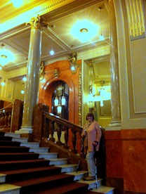 gorgeous interior of the Municipal Building in Prague