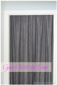 Gone With the Closet Door - A Thoughtful Place