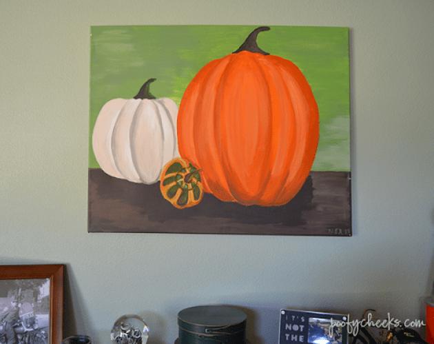 Fall Pumpkin Painting