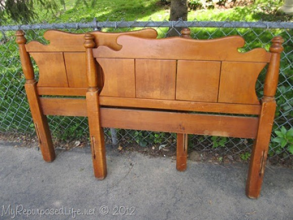 Twin bed-bench upholstered (2)