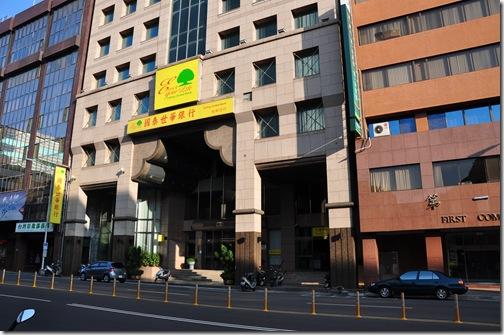 何澄祥的部落格: 臺中市中區華爾街的金融區