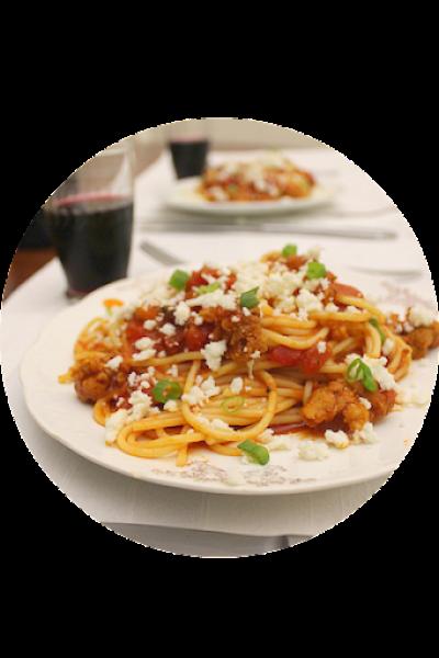 Pasta with Chorizo - Espagueti11