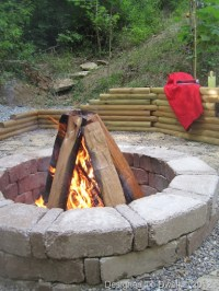Designed To Dwell: Creating an Outdoor Fire Pit
