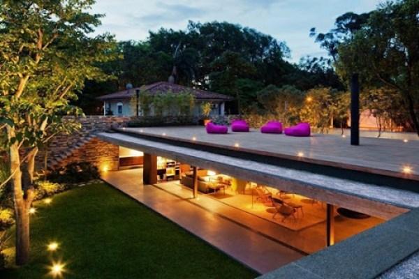 terraza Casa V4 Marcio Kogan