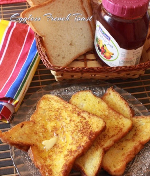 Eggless French Toast3