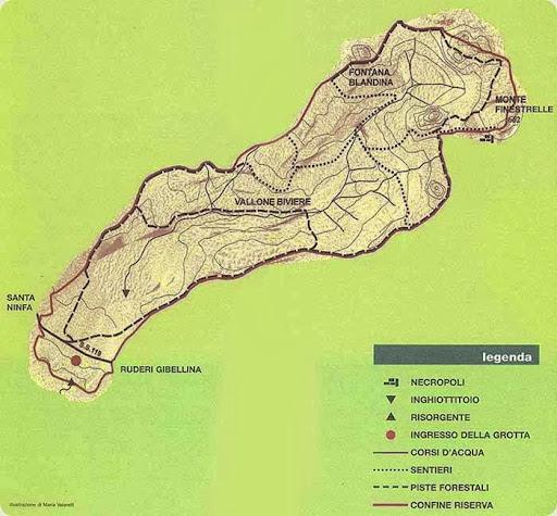 Riserva Naturale Integrale Grotta di Santa Ninfa di elevato interesse speleologico