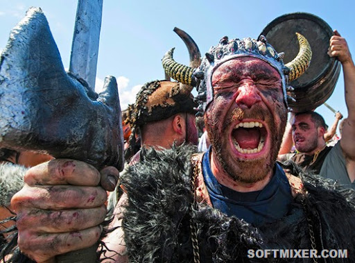 APTOPIX Spain Viking Festival