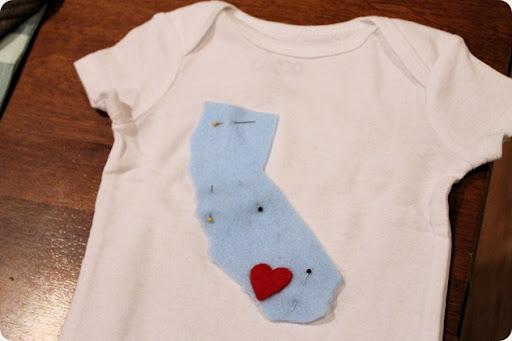 easy diy onesie for baby shower