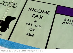 'Monopoly Income Tax Ver1' photo (c) 2012, Chris Potter - license: http://creativecommons.org/licenses/by/2.0/