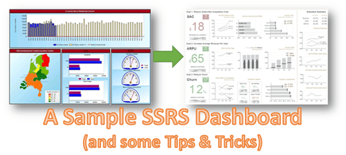 SSRS Sample dashboard and some tips and tricks