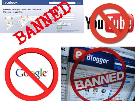 Các nhà mạng lại tiếp tục chặn Facebook & Blogger