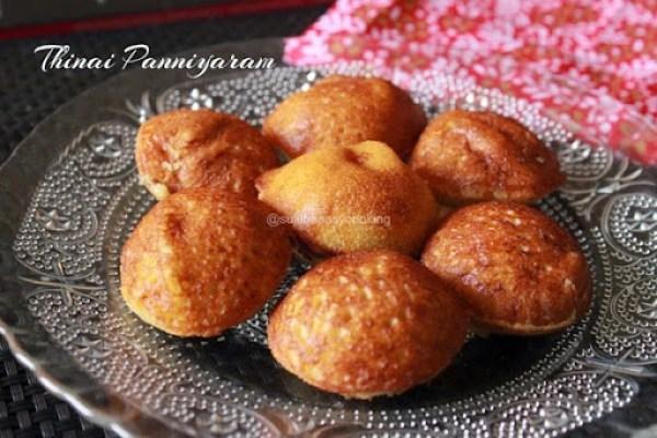 Thinai Panniyaram1