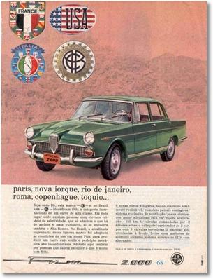Alfa Romeo 2000 1968