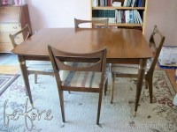 How to Restore a Mid-Century Dining Set | Reality Daydream