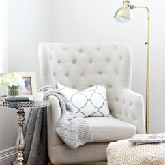 Master Bedroom Lounge Chair Round Bistro Cushions Update Reading Nook A Thoughtful Place
