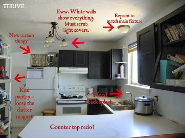 No Money Remodel 3 Kitchen Entry Paint Choose To