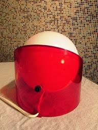 B395 acrylic eyeball lamp | C. N. Burman | 1974 || OBJECT ...