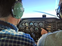 flight instruction with Carl pic