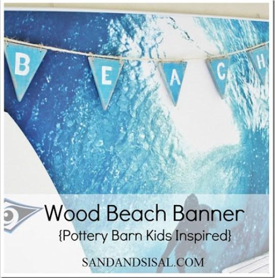 wood beach banner