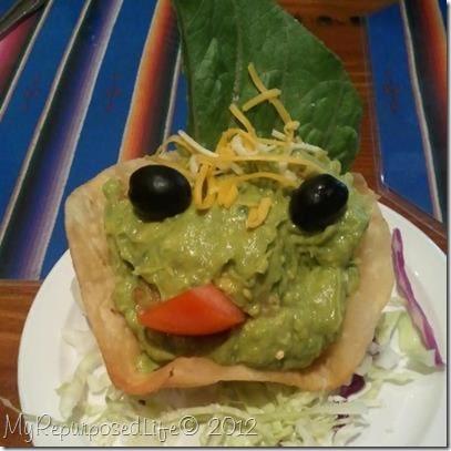 guacamole face