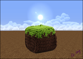 Cube-Terre-Minecraft-Crochet-Di-Day