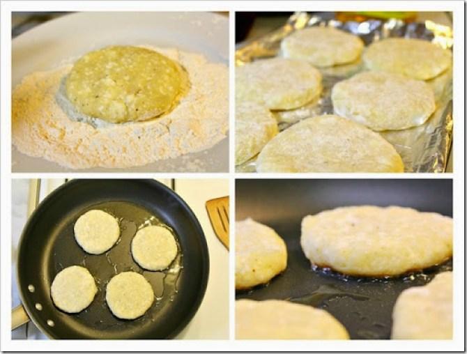 Potato patties tortitas de papa