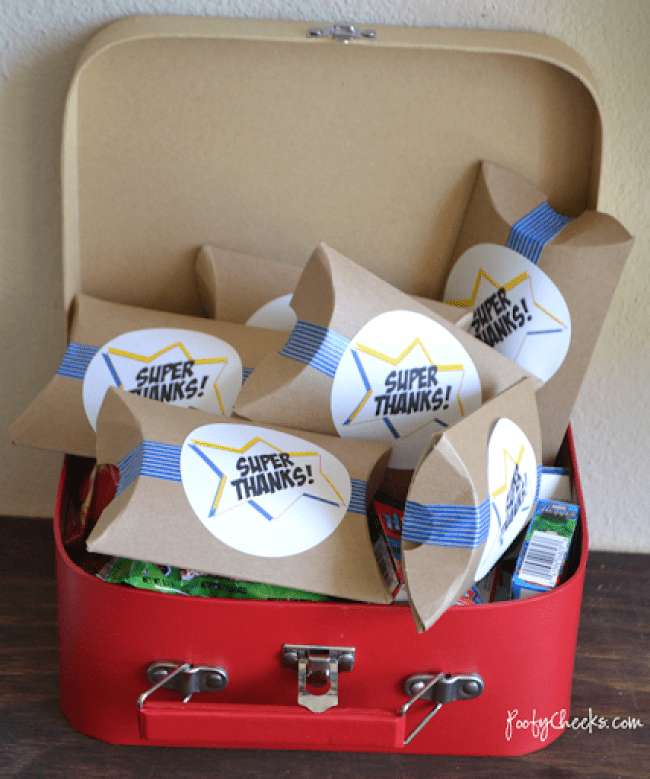 Free Super Hero Party Printables